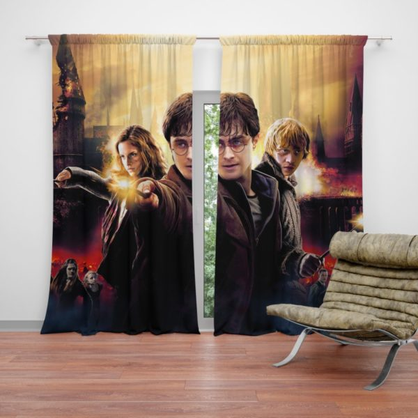 Harry Potter And The Deathly Hallows Curtain