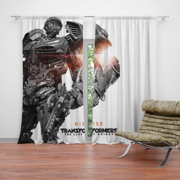 Hot Rod Transformers The Last Knight Curtain