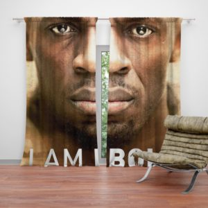 I am Bolt Movie Usain Bolt Curtain