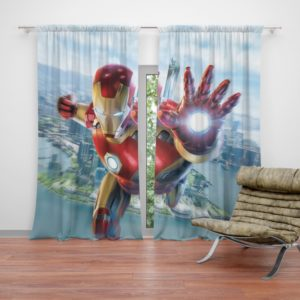 Iron Man Experience Hong Kong Disneyland Curtain