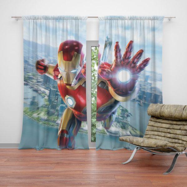 Iron Man Experience Hong Kong Disneyland Curtain