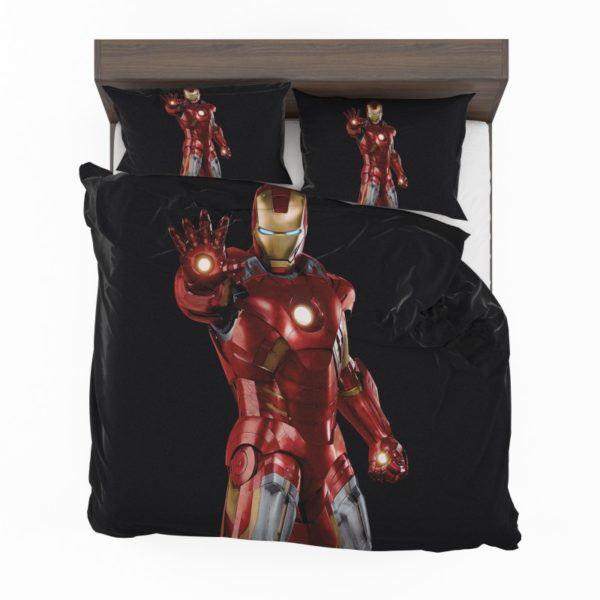 Iron Man Marvel Comics Superheroes Bedding Set2