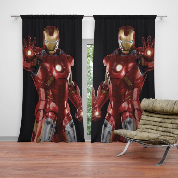 Iron Man Marvel Comics Superheroes Curtain
