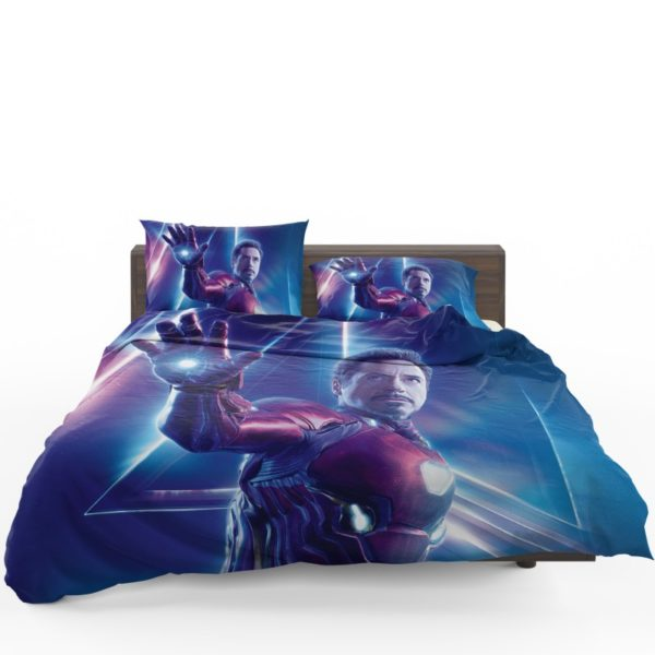 Iron Man Robert Downey Jr Tony Stark Bedding Set
