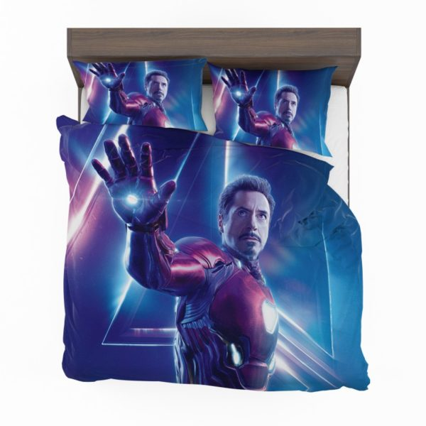 Iron Man Robert Downey Jr Tony Stark Bedding Set2