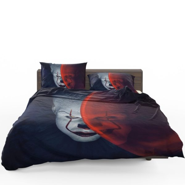 It Movie Clown Bill Skarsgard Bedding Set