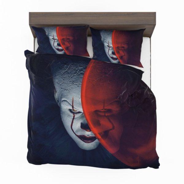 It Movie Clown Bill Skarsgard Bedding Set2