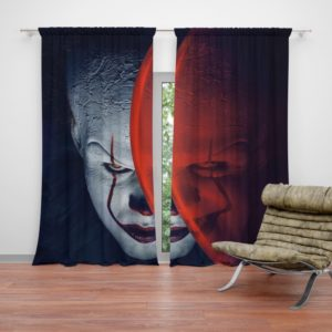 It Movie Clown Bill Skarsgard Curtain