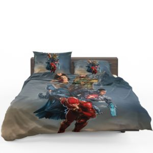 Justice League Movie Teen Bedroom Bedding Set