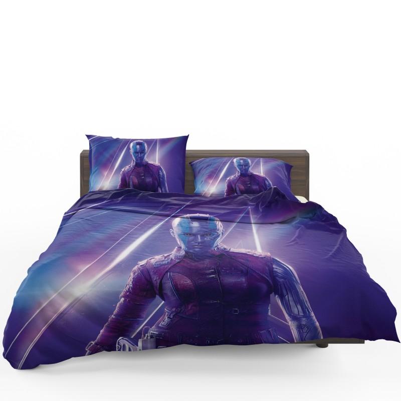 Karen Gillan Nebula Avengers Bedding Set Ebeddingsets