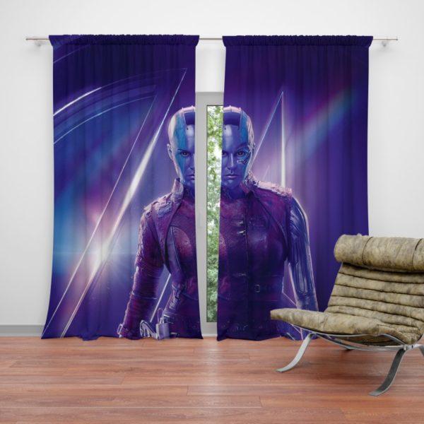 Karen Gillan Nebula Avengers Curtain
