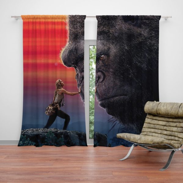 Kong Skull Island Brie Larson Curtain
