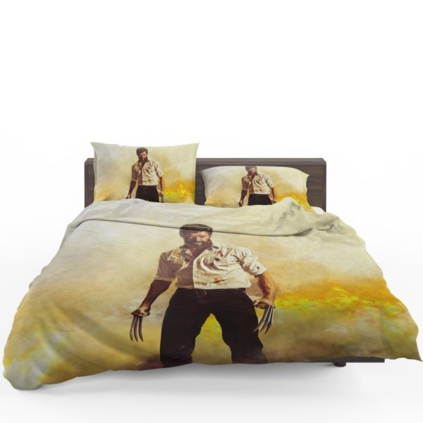 Logan Hugh Jackman Bedding Set