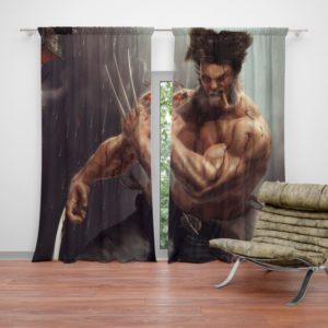 Logan Wolwerine Curtain