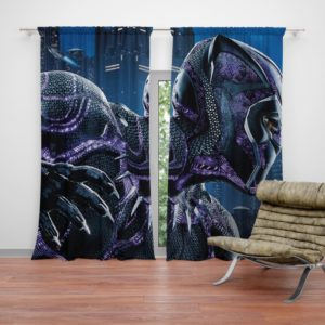Marvel Black Panther Movie Curtain