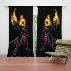 Marvel Comics Ghost Rider Curtain