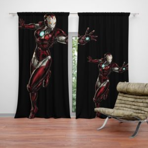 Marvel Comics Iron Woman Curtain