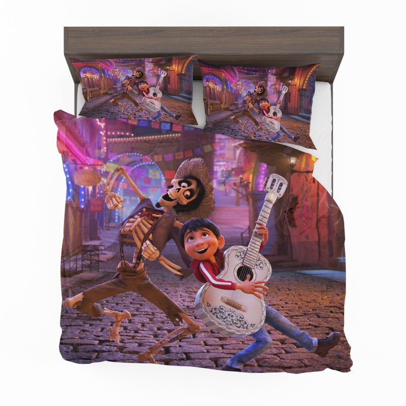 miguel rivera hector coco disney pixar bedding set
