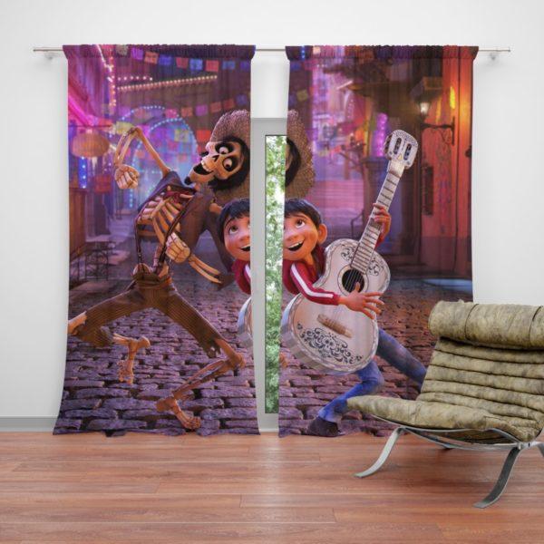 Miguel Rivera Hector Coco Disney Pixar Curtain