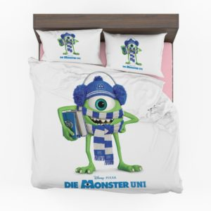 Monsters University Mike Wazowski Scarves Hats Books Disney Pixar Bedding Set