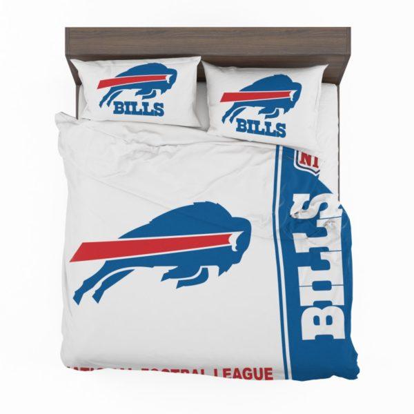 NFL Buffalo Bills Bedding Comforter Set 4 (2)