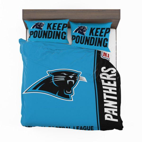 NFL Carolina Panthers Bedding Comforter Set 4 (2)