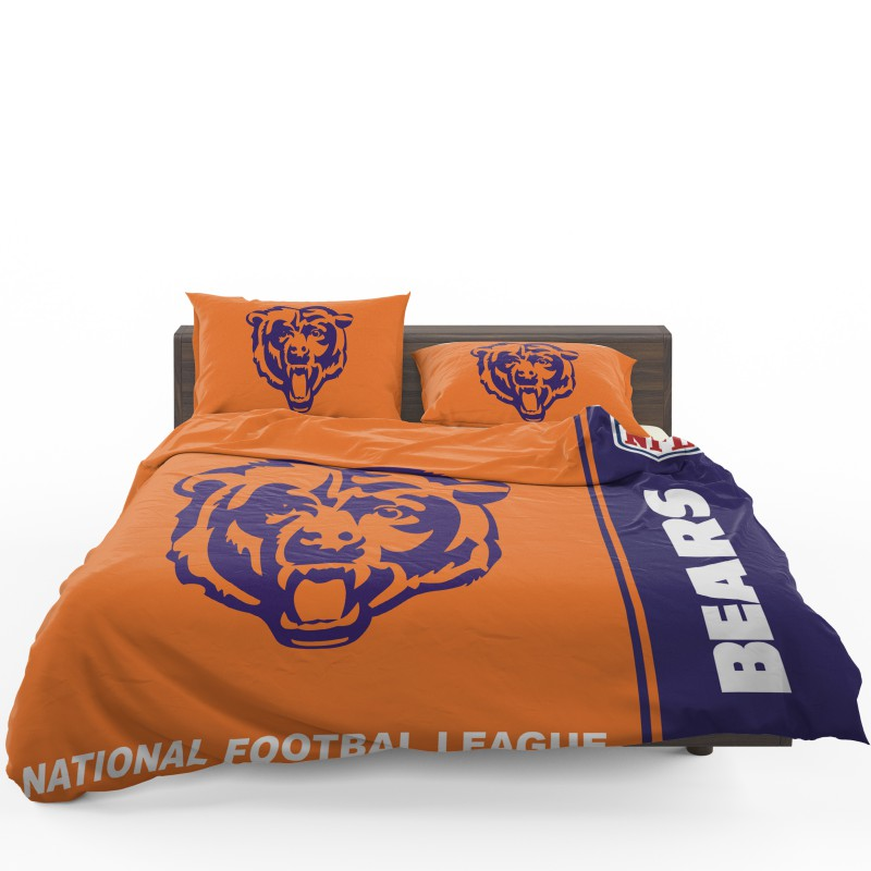 Nfl Chicago Bears Bedding Comforter Set 4 1