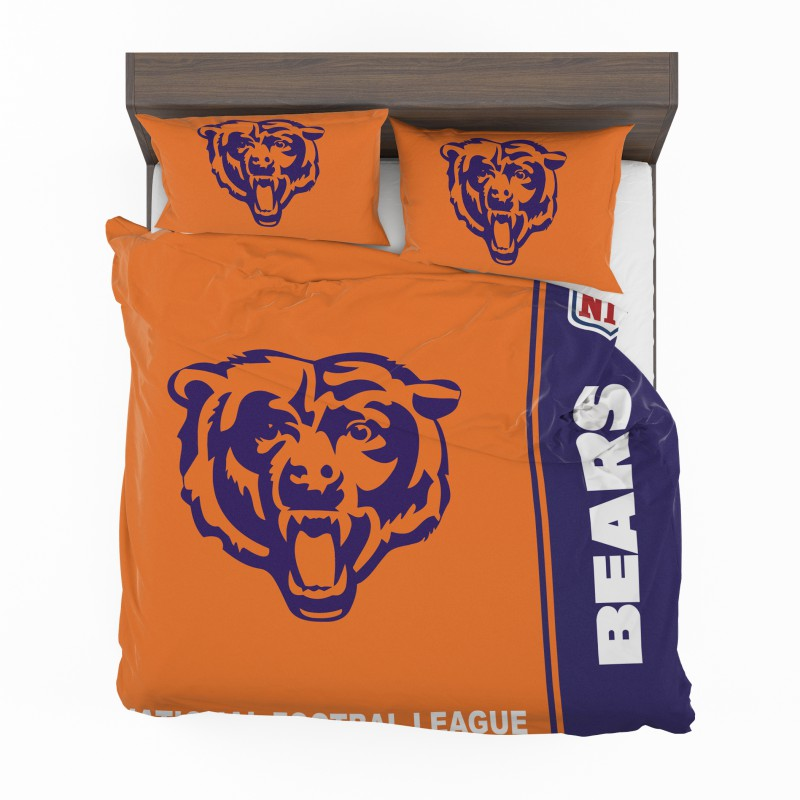 Nfl Chicago Bears Bedding Comforter Set 4 2
