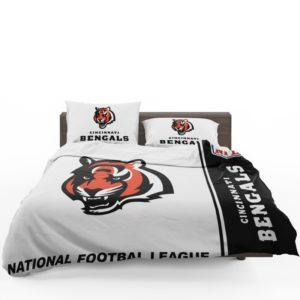 NFL Cincinnati Bengals Bedding Comforter Set 4 (1)
