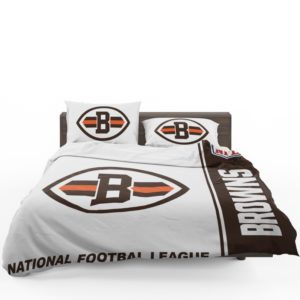 NFL Cleveland Browns Bedding Comforter Set 4 (1)
