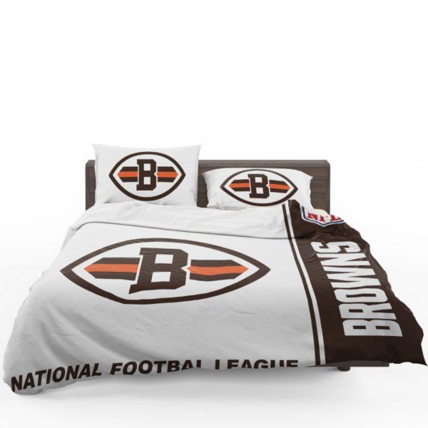 NFL Cleveland Browns Bedding Comforter Set 4 (1)