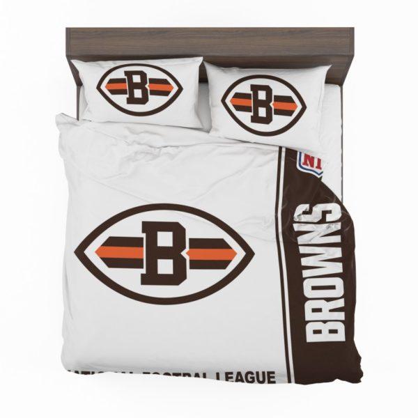 NFL Cleveland Browns Bedding Comforter Set 4 2