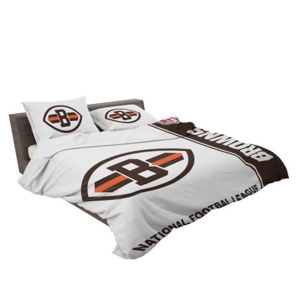 NFL Cleveland Browns Bedding Comforter Set 4 3