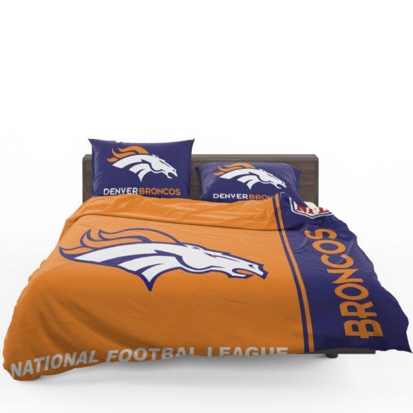 NFL Denver Broncos Bedding Comforter Set 4 (1)