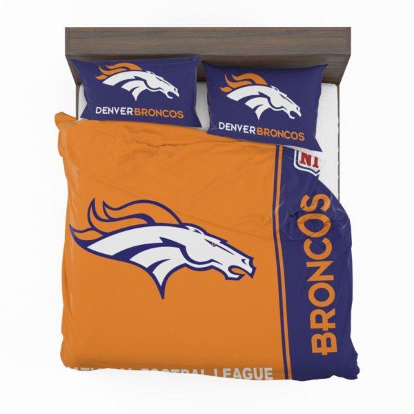 NFL Denver Broncos Bedding Comforter Set 4 2