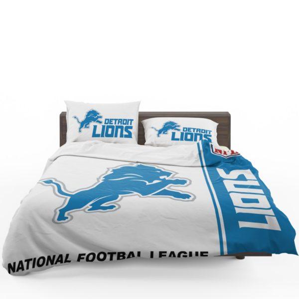 NFL Detroit Lions Bedding Comforter Set 4 (1)