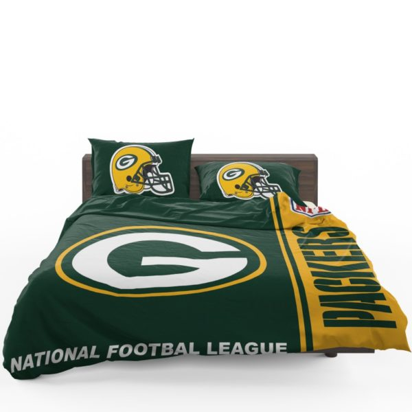 NFL Green Bay Packers Bedding Comforter Set 4 (1)