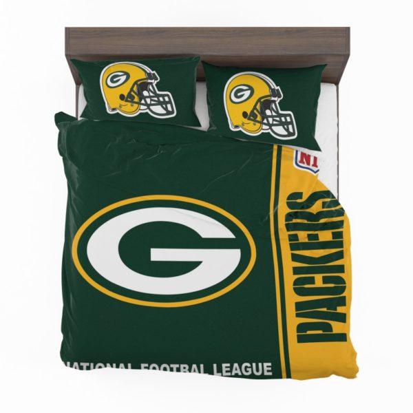 NFL Green Bay Packers Bedding Comforter Set 4 2