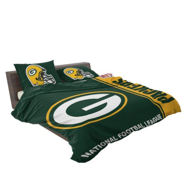 NFL Green Bay Packers Bedding Comforter Set 4 3