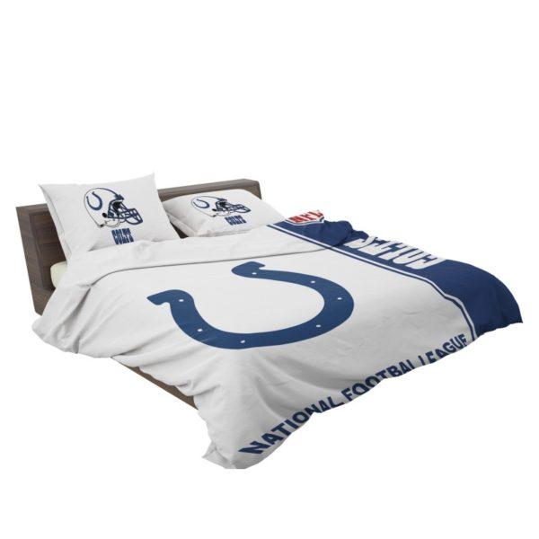 NFL Indianapolis Colts Bedding Comforter Set 4 3