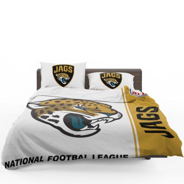 NFL Jacksonville Jaguars Bedding Comforter Set