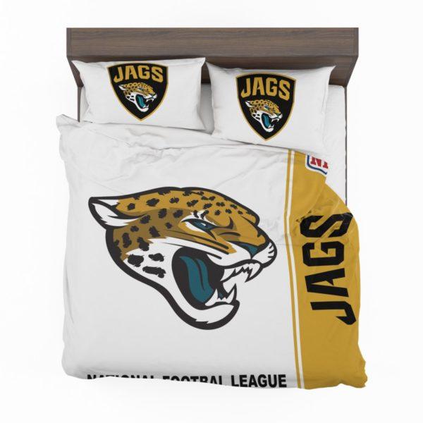 NFL Jacksonville Jaguars Bedding Comforter Set 4 2