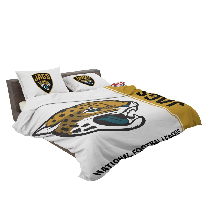 5e9ae41b Buy NFL Jacksonville Jaguars Bedding Comforter Set | Up to 50% Off