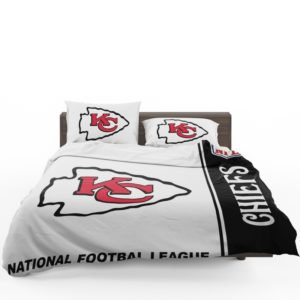 NFL Kansas City Chiefs Bedding Comforter Set