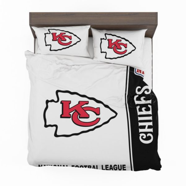 NFL Kansas City Chiefs Bedding Comforter Set 4 2