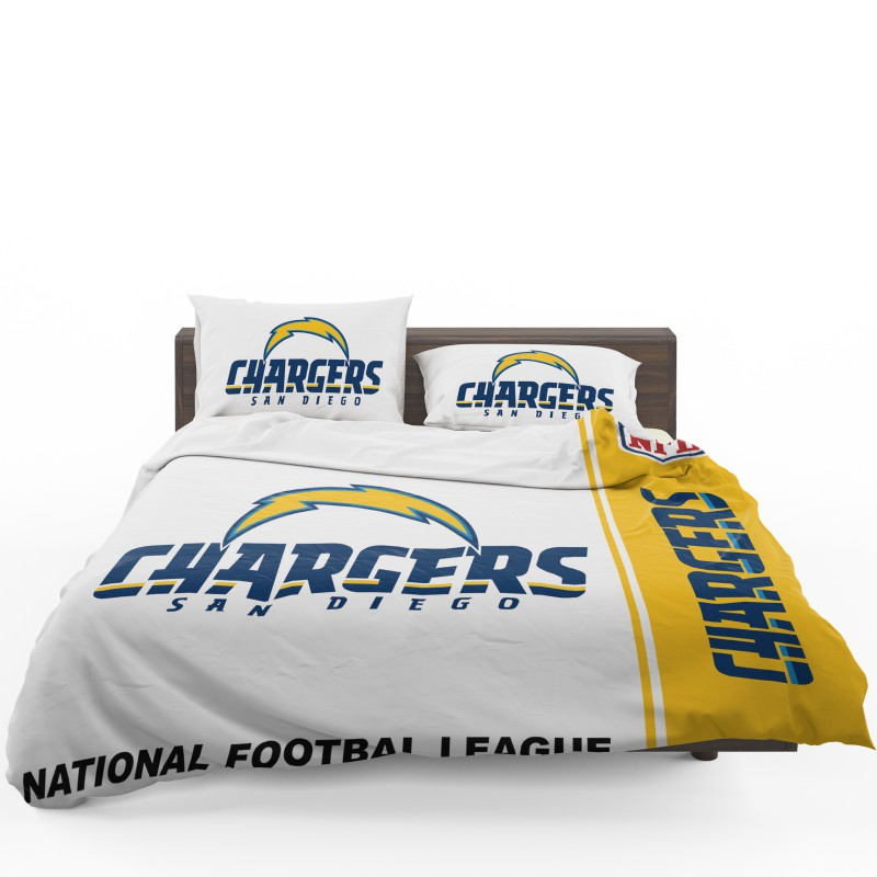 buy nfl los angeles chargers bedding comforter set up to 50 off