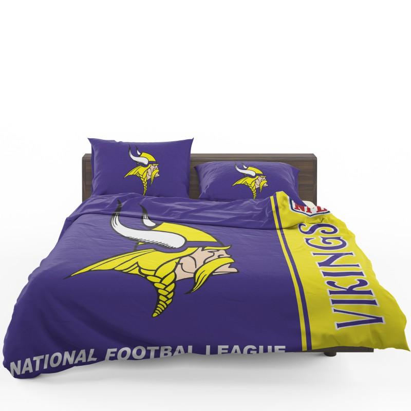 Nfl Minnesota Vikings Bedding Comforter Set