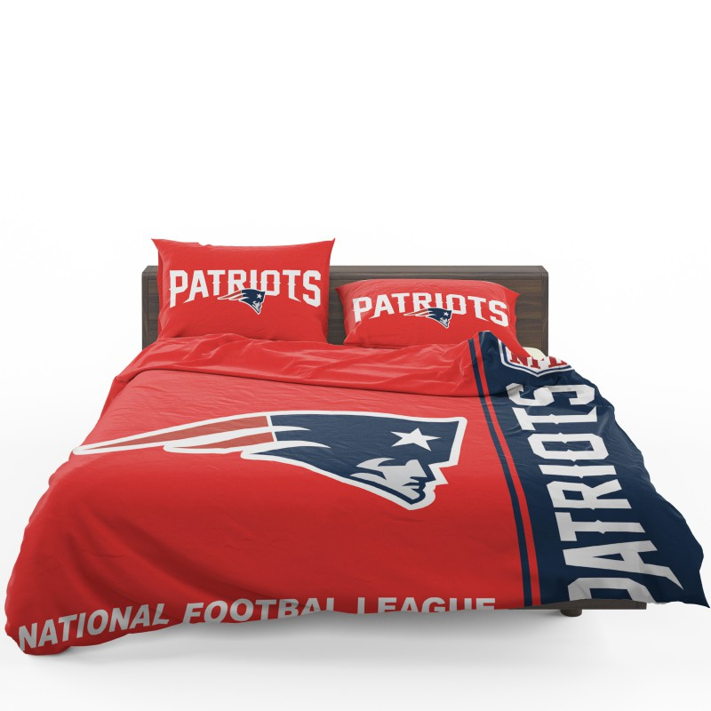Nfl New England Patriots Bedding Comforter Set