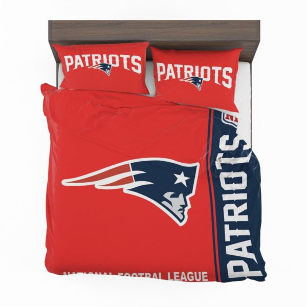 NFL New England Patriots Bedding Comforter Set 4 2