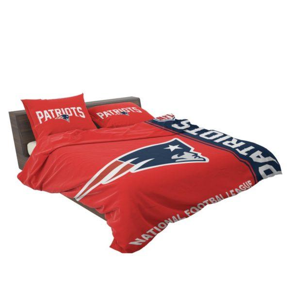 NFL New England Patriots Bedding Comforter Set 4 3